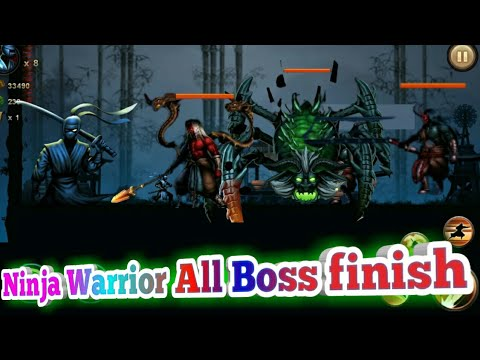 Ninja Warrior Legend of Adventure Game all boss is finish.the end game. |