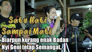 Download SATU HATI SAMPAI MATI - COVER LATIHAN PENDOWO NDESO & NYI GENI