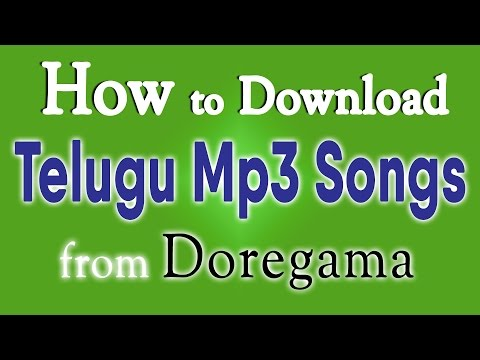 How to Download Telugu Mp3 Songs from Doregama