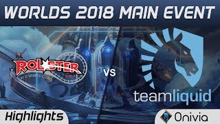 KT vs TL Highlights Worlds 2018 Main Event KT Rolster vs Team Liquid by Onivia