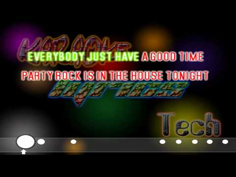 LMFAO - Party Rock Anthem - Lyrics / Karaoke