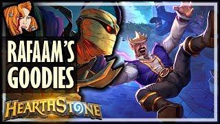 RAFAAM HAS ALL THE GOODIES! - Rise of Shadows Hearthstone