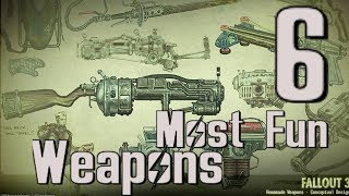 Fallout 3: My 6 Favorite Weapons in the Game!