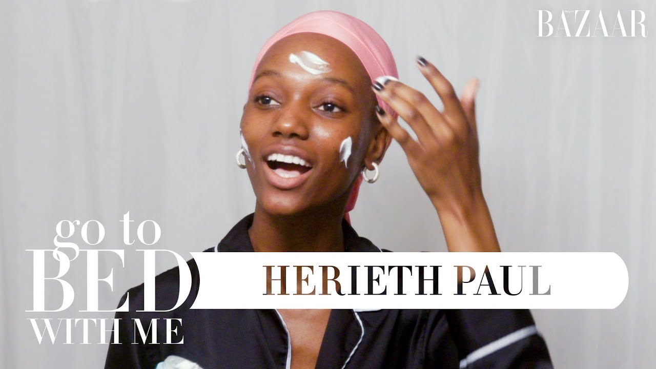 Victoria's Secret Model Herieth Paul's Nighttime Skincare Routine | Go To Bed With Me