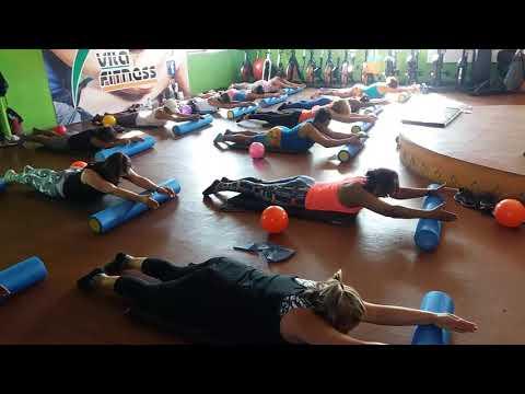 Professor Diedy -Aula de Pilates Solo com Rolo