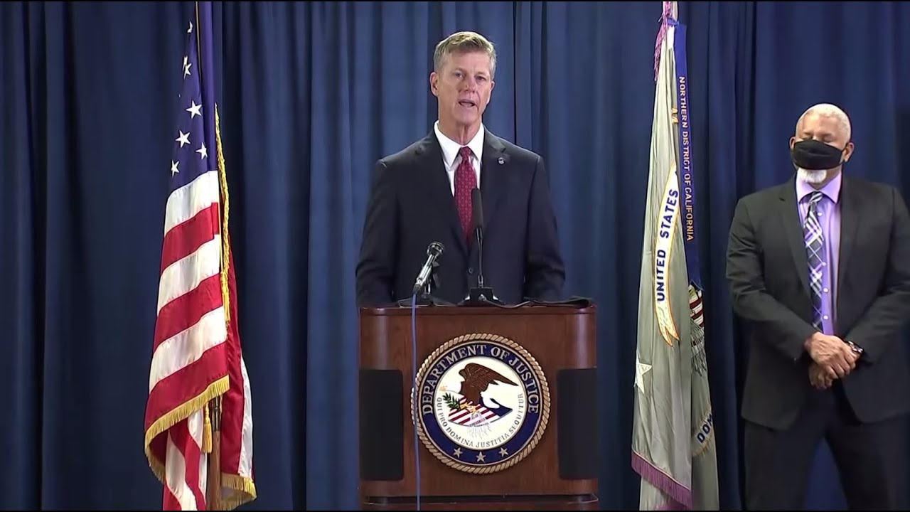 Drug Bust- US Attorney General Announces Massive Northern California Drug Operation