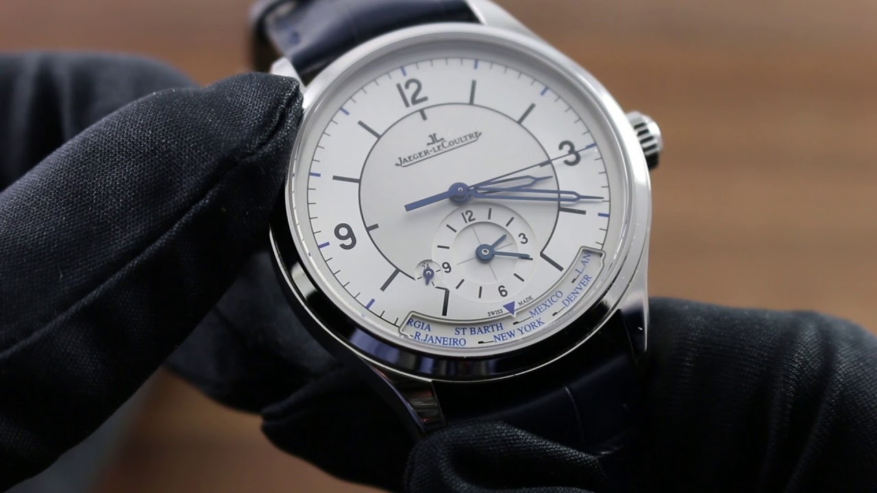 3574665a8e8 Jaeger-LeCoultre Master Geographic 1428530 Functions and Care - YouTube