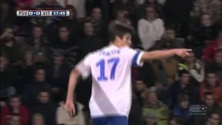 PSV 2-6 Vitesse /  Assist + Goal of Mike Havenaar / 12-07-2013