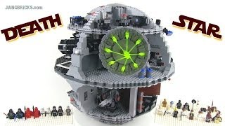 Older LEGO Star Wars 10188 DEATH STAR reviewed!  3800+ pieces, 11+ lbs.! thumbnail