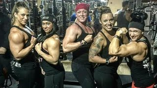 Collection Female Bodybuilding 2017!Collection Muscle women 2017! FBB! Girl Muscles! female biceps!