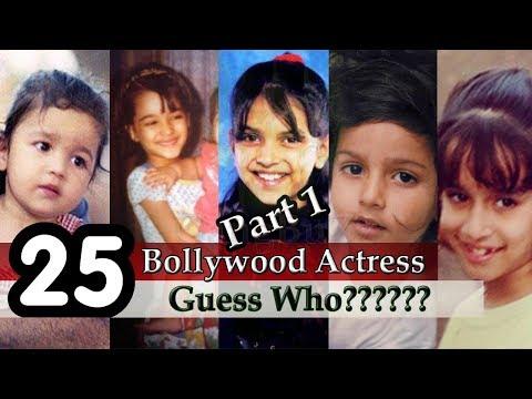 Bollywood Actress - Guess The Bollywood Actress | Guess Bollywood Actresses From Childhood Pictures