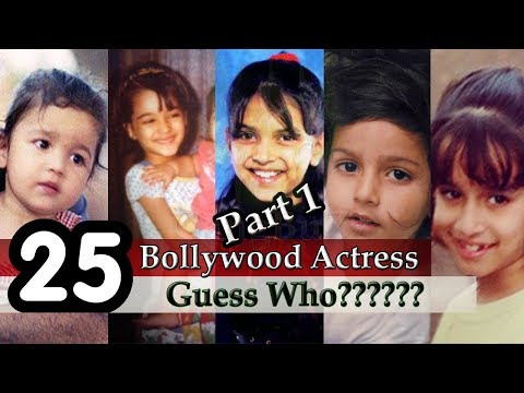 Thumbnail: Bollywood Actress - Guess The Bollywood Actress | Guess Bollywood Actresses From Childhood Pictures