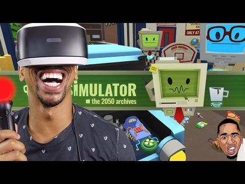 Job Simulator: MECHANIC Gameplay (PSVR)