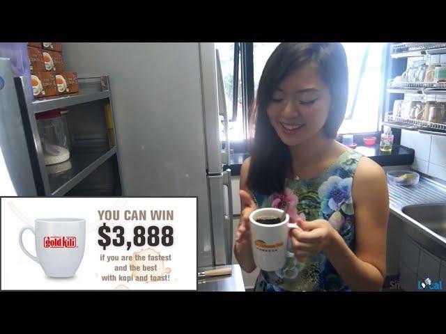 Win $3,888 just by making Singapore Coffee - Gold Kili Kopi Kia 2014