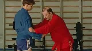 Уроки самбо Гончаров 23   Мельница из стойки