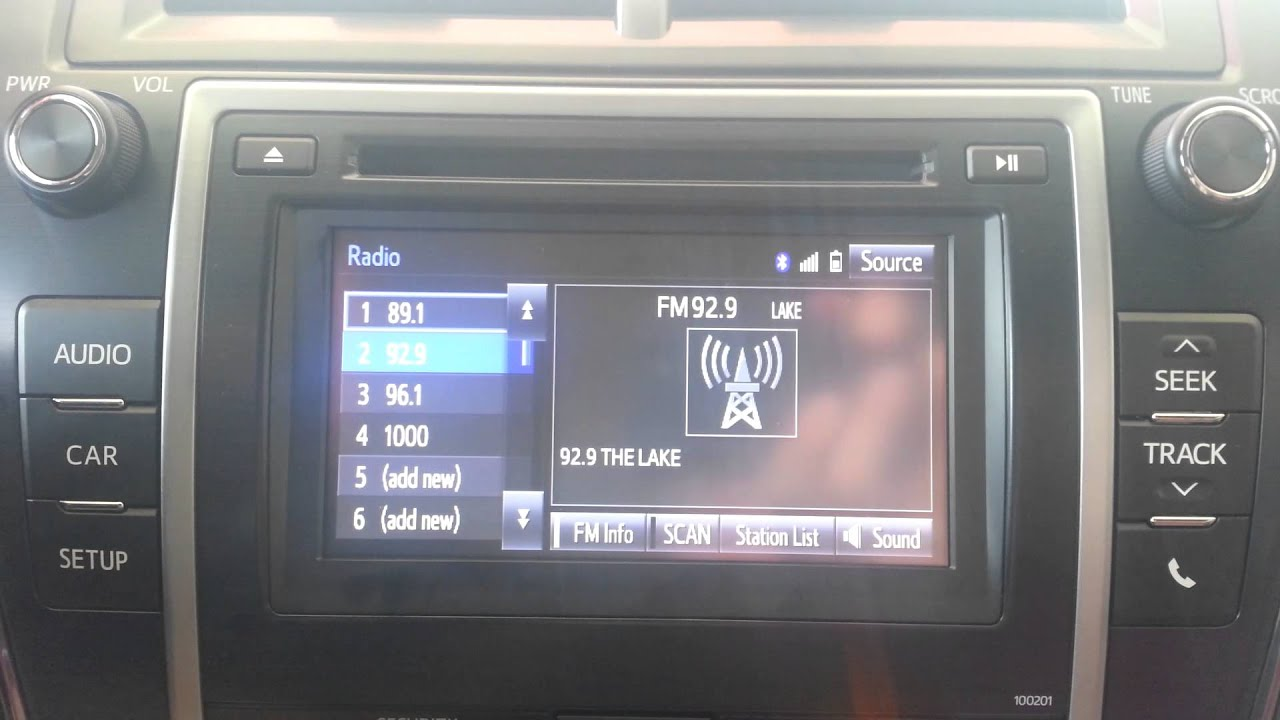 Lake charles toyota 2014 5 camry entune audio audio tutorial
