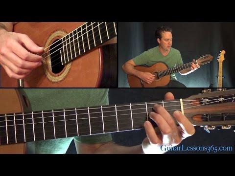 Suzanne Guitar Lesson - Leonard Cohen