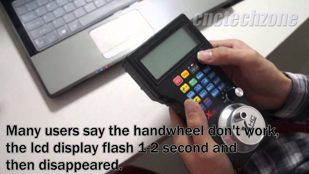 Cnc wireless usb mach3 mpg pendant handwheel whb04 user instructions cnc wireless usb mach3 mpg pendant handwheel whb04 user instructions youtube aloadofball Images
