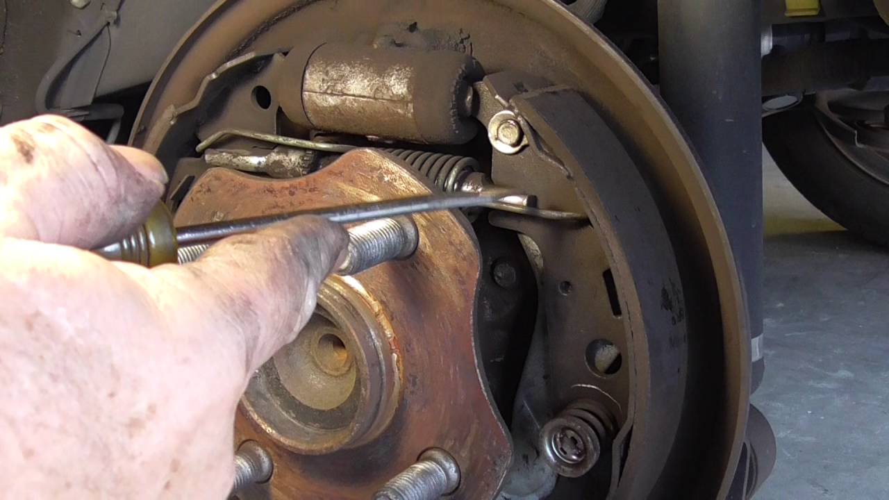 xB Rear Brake Auto Adjuster Assembly Fix  YouTube