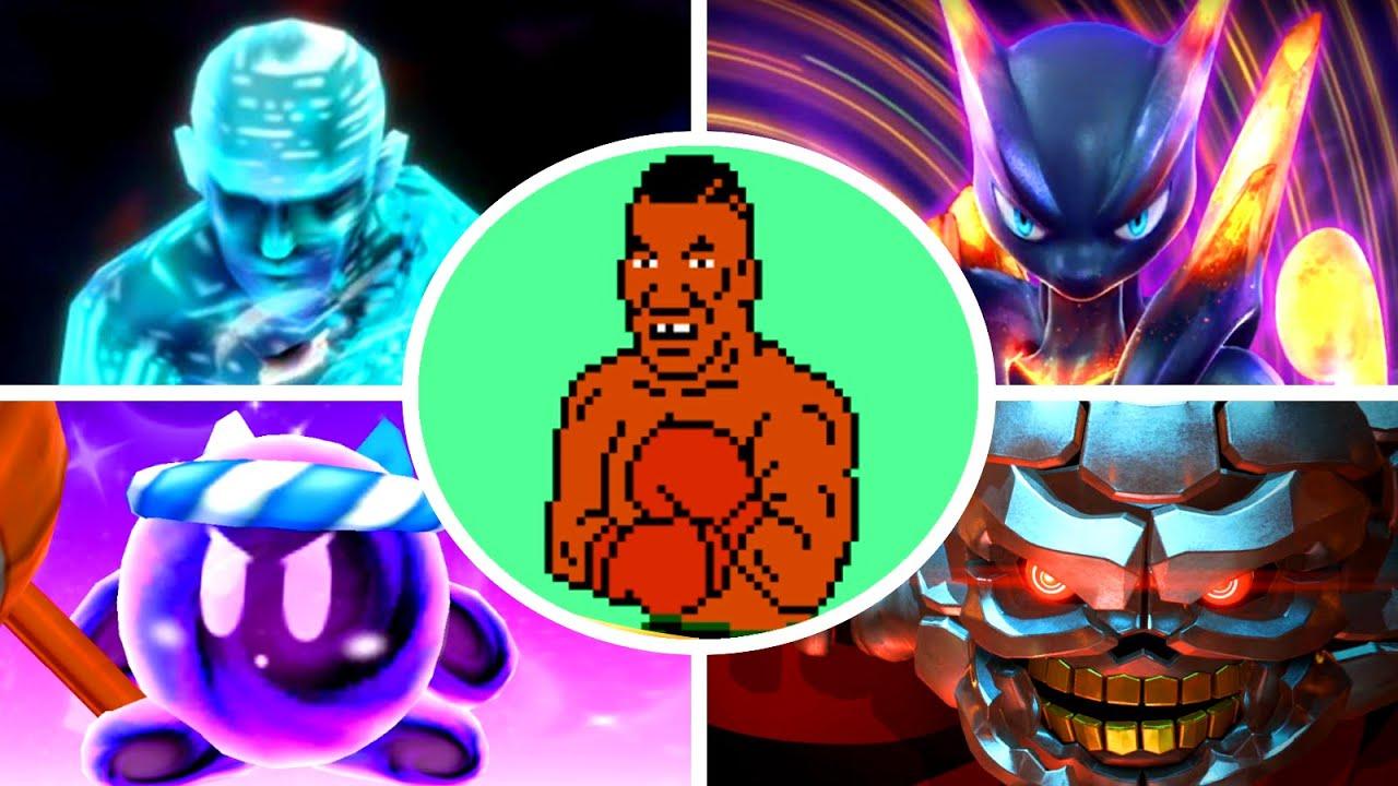 Evolution of Final Bosses in Nintendo Fighting Games (1984 - 2020)