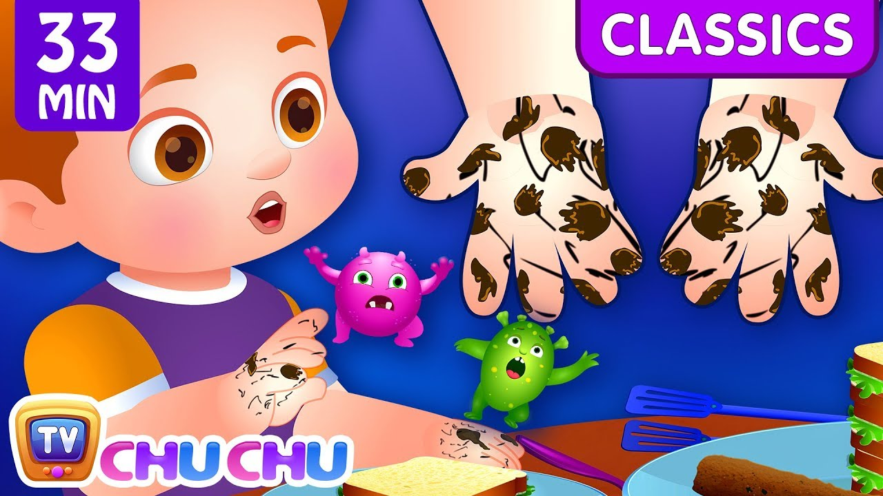 Wash Your Hands Song + More Healthy Habits songs for Kids | ChuChu TV Classics