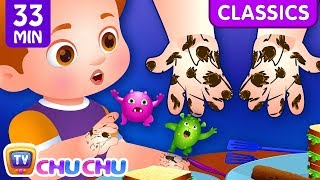 Wash Your Hands Song + More Healthy Habits songs for Kids   ChuChu TV Classics