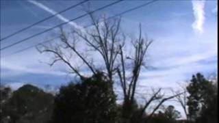 ChemTrails Over Waycross, Georgia January 5, 2015 And Citizens Unanswered Questions