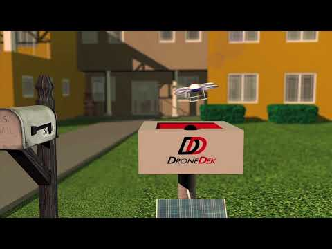 Introducing DroneDek - Newly Patented Drone Delivery Receiving System