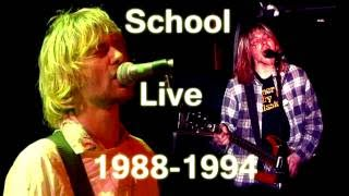 Nirvana - School - Live Performances 1988-1994