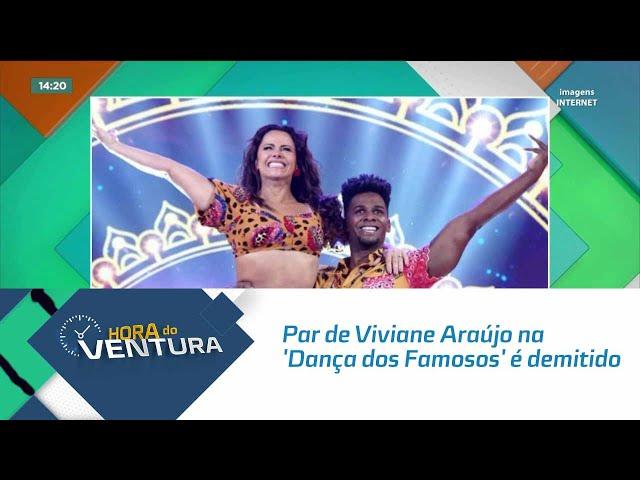 Par de Viviane Araújo na 'Dança dos Famosos' é demitido após suposto pedido da atriz