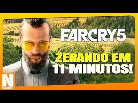 ZERANDO o FAR CRY 5 em 11 MINUTOS !! - Noberto Gamer