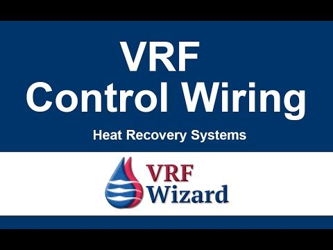 Vrf System Control Wiring Youtube
