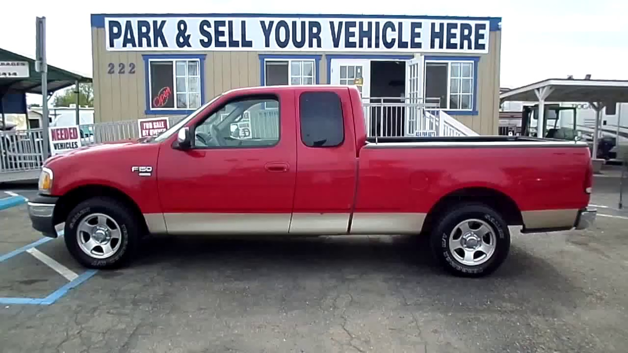 2000 ford f 150 xlt for sale by owner in lodi stockton ca 3900 [ 1280 x 720 Pixel ]