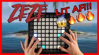 ZEZE by Kodak Black, Travis Scott, & Offset Launchpad Cover (Instrumental) #zezechallenge