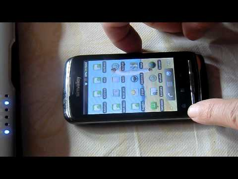 Smartphone Simvalley SP80 von Pearl