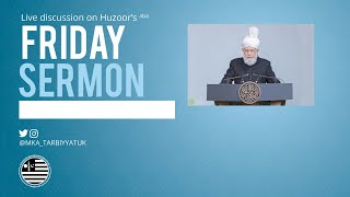 Friday Sermon Discussions - Friday 29th May 2020