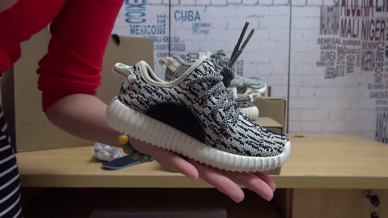 timeless design f7a28 e7916 2016 Best Replica Yeezy Boost 350 Infant Details Review From  Pickyourkicks.ru