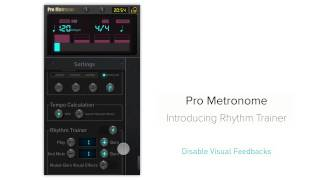 Introducing Rhythm Trainer - Pro Metronome
