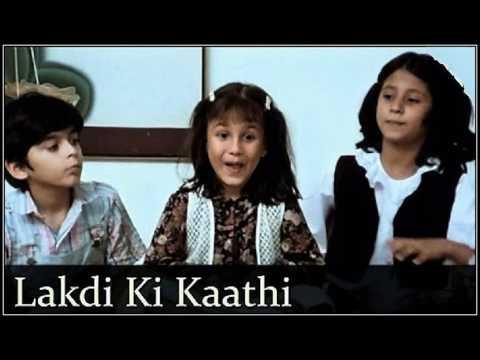 LAKDI KA KATHI - SINGERS, VANITA MISHRA,GAURI BAPAT & GURPREET KAUR .., MASOOM (1983)