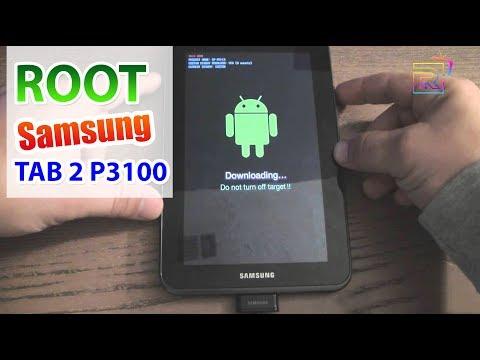 ROOT Samsung TAB 2 GT P3100