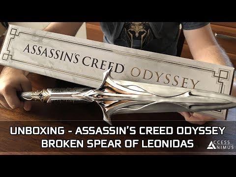 Assassin/'s Creed Odyssey Broken Spear of Leonidas Replica
