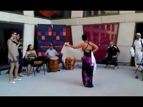 Make Music NY 2012 World Tour: Alma Moyo at The African Center #MakeMusicNY #TheAfricanCenter