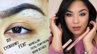 Maybelline Total Temptation Brow Definer Tutorial