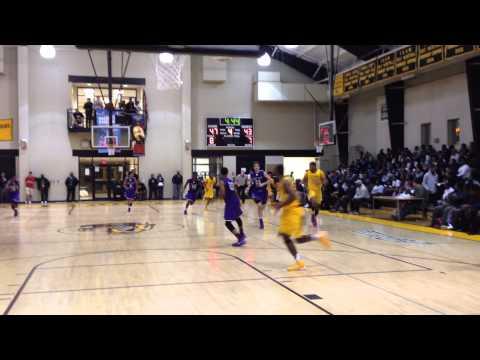 McNeil basket Mount St. Joseph/St. Frances basketball 12/4/13