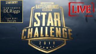 PUBG Mobile STAR CHALLENGE Squad Practice   TPP
