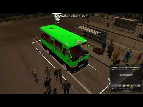 Passenger Trip Full Process By Town Bus  ETS2