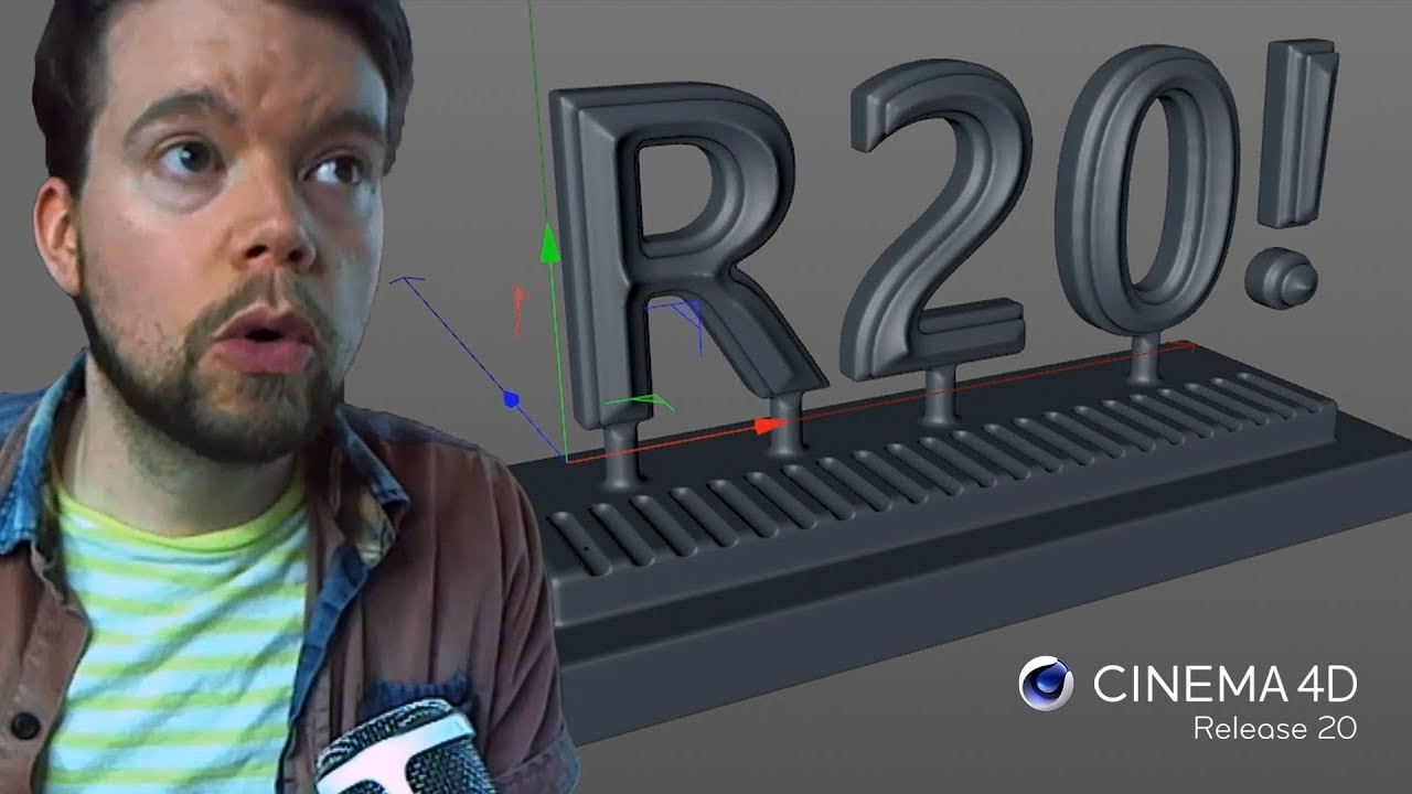 Mind-Blowing New Features in Cinema 4D R20 | Greyscalegorilla