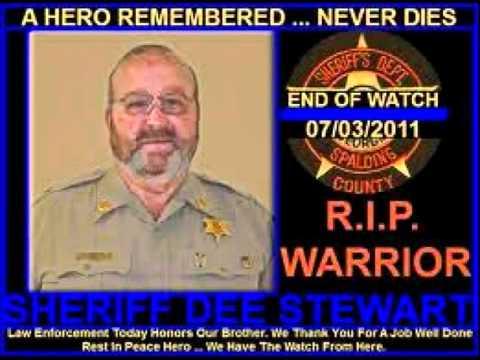 Sheriff Dee Stewart Tribute on WKEU AM 1450