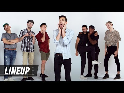 Gay Men Decide Who's The Gayest | Lineup | Cut