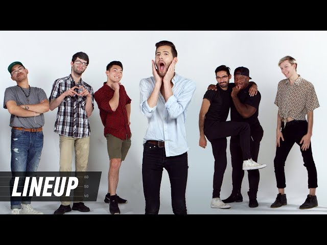 Gay Men Decide Whos the Gayest | Lineup | Cut
